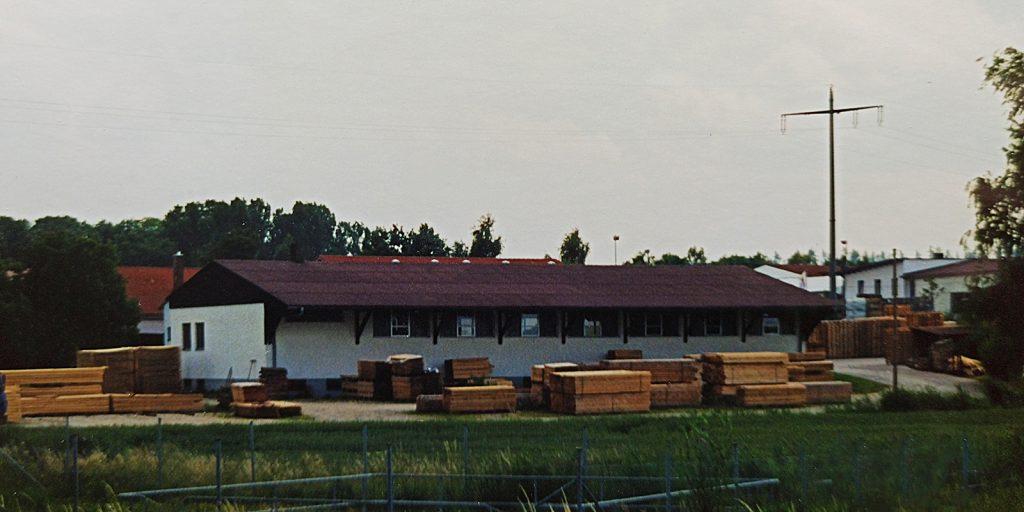 Neubau einer Fabrikationshalle