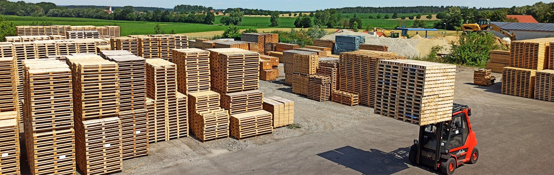 Laerplatz der Kurz Paletten GmbH